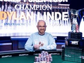 【GG扑克】Dylan Linde斩获WPT五钻世界扑克经典赛冠军,入账$1,631,468!