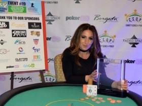 【GG扑克】Kujdes Gagliardi赢得慈善赛冠军,妹妹赢得女子赛冠军