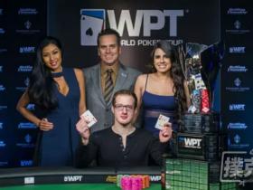 【GG扑克】新闻回顾-Michael Del Vecchio 在WPT Rolling Thunder德州扑克主赛事夺冠