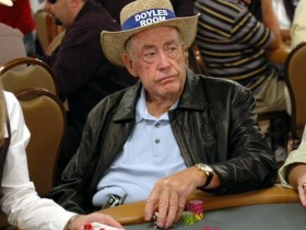 【GG扑克】Doyle Brunson用在Bobby扑克室赢得的奖金买了一部新车