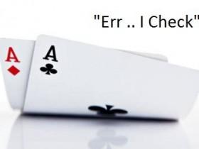【GG扑克】慢玩的基本技巧