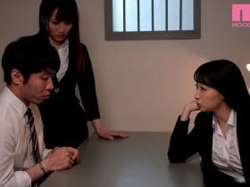 【GG扑克】MIAA-317:黑丝美腿女搜查官莲实克蕾儿和仓多真央特别审讯。