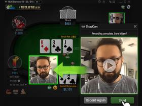 【GG扑克】GGPoker新功能允许玩家向对手发送短视频。