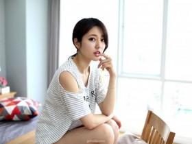 【GG扑克】韩国美模私房写真 优雅恬静