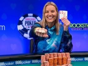 【GG扑克】JESSICA DAWLEY赢得WSOP女士锦标赛冠军,入账$130,230