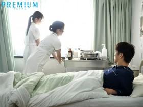 【GG扑克】PRED-260 :巨乳美臀护士波多野结衣开启了病床上的3P之旅!