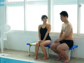 【GG扑克】JUL-334 :寂寞人妻神宫寺奈绪和游泳教练水中做爱!