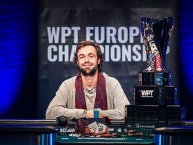 【GG扑克】OLE SCHEMION取得 WPT欧洲扑克锦标赛主赛冠军