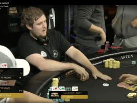 【GG扑克】澳洲百万赛上的精彩弃牌!