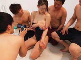【GG扑克】巨乳娇妻JUY-927: 老婆去员工旅游被同事轮流上!轻熟女凛音桃花饥渴多P之旅!