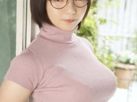 【GG扑克】雪白牛奶肌眼镜妹「初爱宁宁」挺H罩杯AV出道!