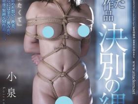 【GG扑克】JBD-262:最后的决别の縄!「小泉ひなた」引退记念作品!