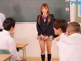 【GG扑克】IPX-290 :美女转校生优月心菜在教室里面偷偷和男同学爽起!