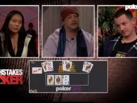【GG扑克】毒王节目中三次跑马全胜赢下近百万美金底池