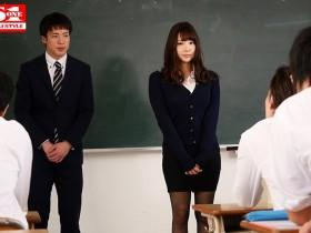 【GG扑克】SSNI-752:年轻暴走的性欲直接把神之乳女教师安斋拉拉当成性玩具!