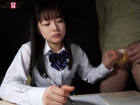 【GG扑克】SDMF-001:可爱的女儿【宮澤千春】 一边写的家庭作业一边帮父亲撸管!