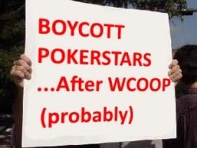 【GG扑克】玩家将在WCOOP落幕之后抵制扑克之星!