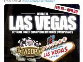 【GG扑克】WSOP系列赛正在发生的一个标志