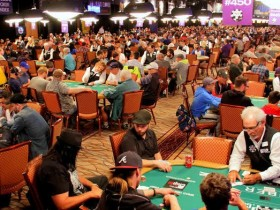 【GG扑克】WSOP巨人赛报名人数逐年递减