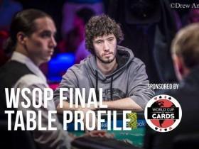 【GG扑克】WSOP主赛事决赛桌选手介绍之Dan OTT