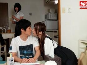"""【GG扑克】SSNI-647:禁欲一个月去女友闺蜜 """"桥本有菜"""" 家过夜做爱到通霄。"""