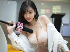 【GG扑克】性感Sugar小甜心(杨晨晨)化身女记者 宽衣解带给你全面深入的采访!