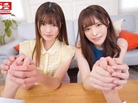"【GG扑克】SIVR-068:长身美人姐妹花""桥本ありな,白叶りこ""同侍一夫共抢一根肉棒。"