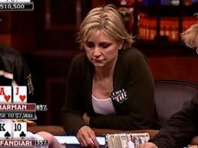 【GG扑克】Jennifer Harman呼吁女性玩家在牌桌上要狠,不要太敏感!