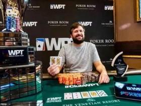 【GG扑克】WPT威尼斯人创造历史 Chad Eveslage赢下冠军