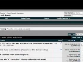 【GG扑克】2+2扑克论坛已被出售