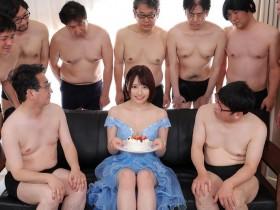 【GG扑克】星菜子(星なこ) MKMP-421:F奶短发甜心一人战9个!