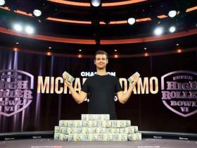 【GG扑克】Michael Addamo登顶澳大利亚历史上奖金榜首 直言自己简直运气爆棚