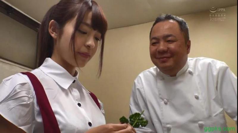 【GG扑克】CAWD篇餐厅服务员樱萌子(桜もこ)