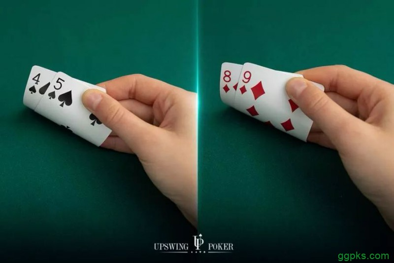 【GG扑克】为什么拿到同花54往往比同花98更好?