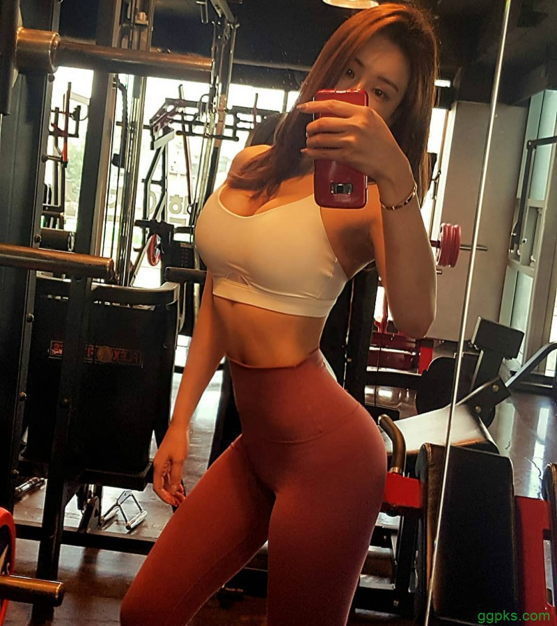 【GG扑克】韩国美女健身正妹Jenny,翘臀诱惑 极品身材完美S曲线超诱人