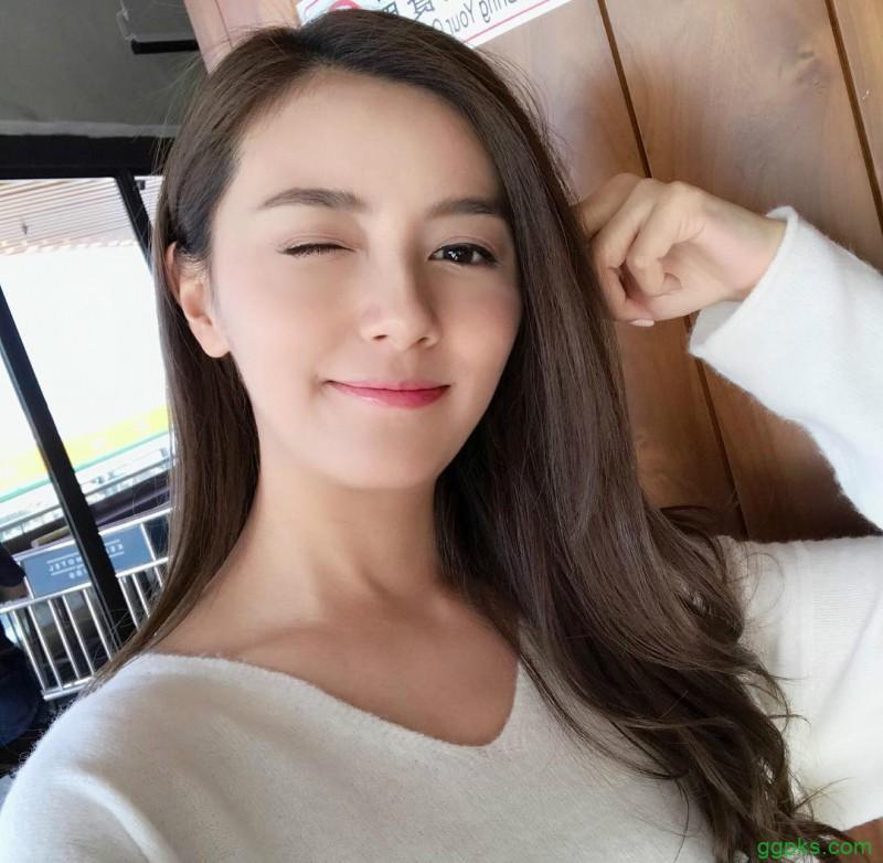 【GG扑克】香港美女Crystal Law 正妹甜美笑容迷人
