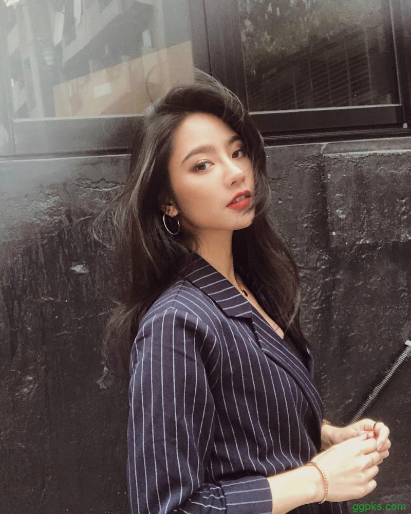【GG扑克】极品美女Jessica Lin 三点式比基尼性感翘臀诱人