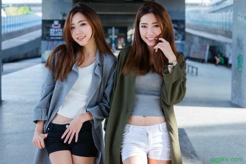 【GG扑克】美女双胞胎姐妹 性感火辣身材令人想入非非