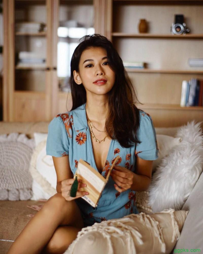 【GG扑克】比基尼美女Ayu wong 阳光甜美笑容治愈人心