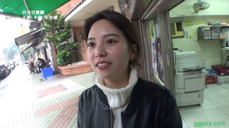 【GG扑克】混血女大学Jessica淇淇 混血美女气人出众引发骚动