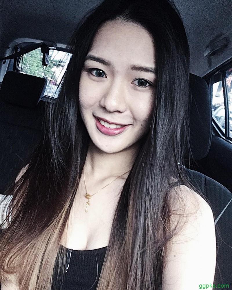 【GG扑克】气质美女XinYee欣谕 性感身材甜美笑容令人窒息