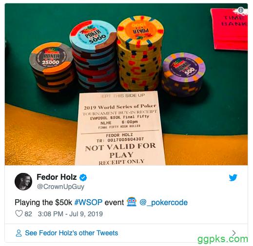 【GG扑克】K五十周年庆终极豪客赛:Holz和丹牛得以晋级