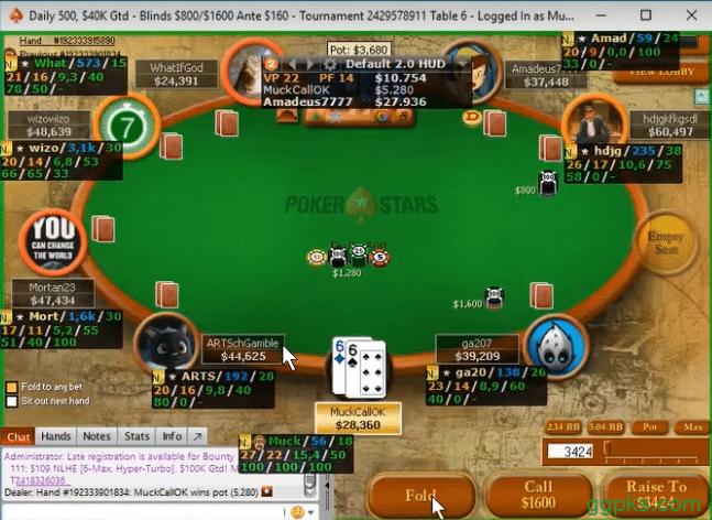 【GG扑克】帮助你征服锦标赛的四手牌!