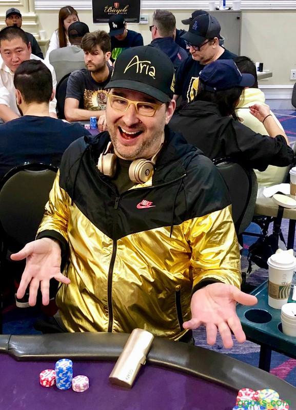 【GG扑克】Phil Hellmuth打入2019龙凤娱乐场Mega Millions XXI决胜桌