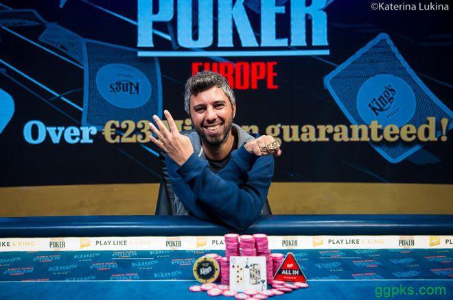 【GG扑克】Asi Moshe赢得€1,650 PLO/NLHE混合赛冠军,收获职业第4条金手链