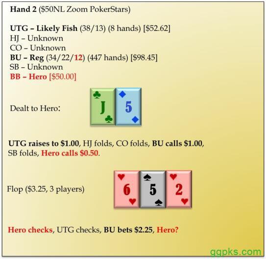 【GG扑克】六人桌常规局典型牌例100手-2