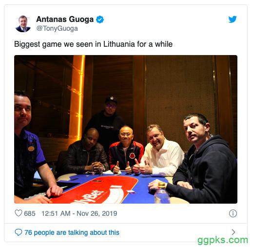 【GG扑克】Tony G组局,Ivey和Dwan出席,玩的是5+版豪客短牌