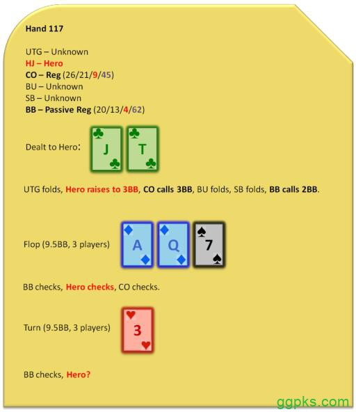 【GG扑克】Grinder手册-78:转牌圈和河牌圈诈唬-5