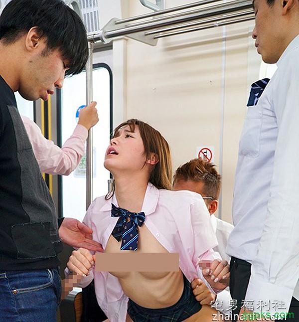 【GG扑克】SSNI-487:坂道美琉最新番号,超敏感制服美少女被电车痴汉开发后就回不去了!