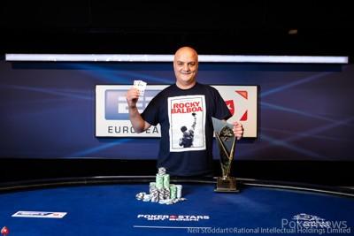 【GG扑克】Uri Gilboa斩获EPT索契主赛冠军,揽获奖金₽27,475,000 (~0,000)